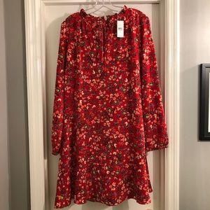 NWT LOFT Floral Dress